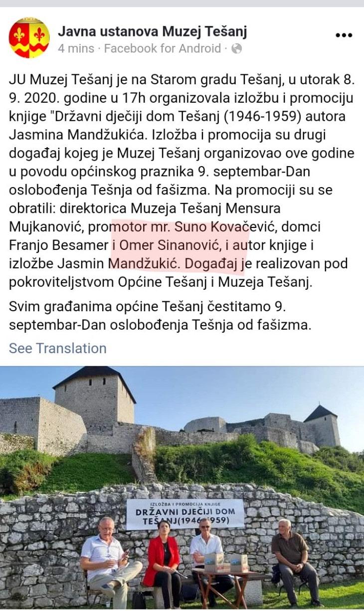 ŠOKANTNA  ispovijest Dobojlije: Nisam ja Omer Sinanović, ja sam Dragoljub Blagojević!