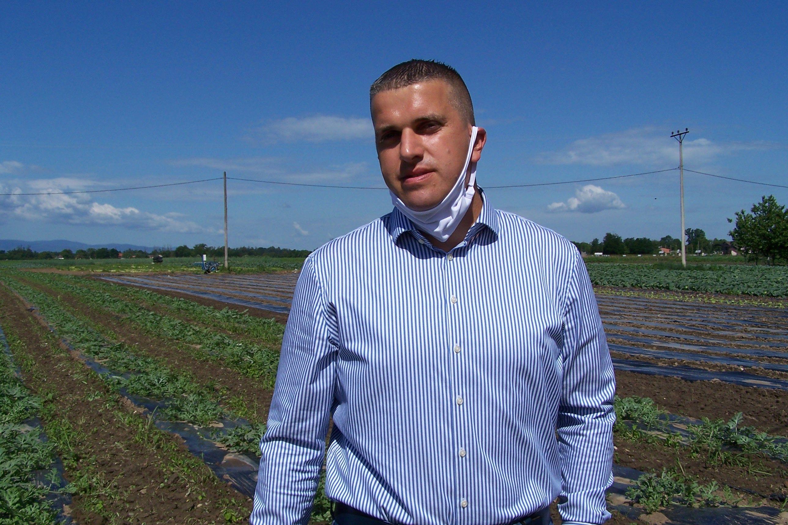 Nikola Lakić, poljoprivrednik iz Kukulja kod Srpca